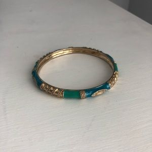 Jewelry - ⚡️ 3/$20 ⚡️ Green/Blue/Gold Bangle